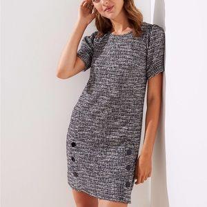 Loft Tweed Sheath Dress